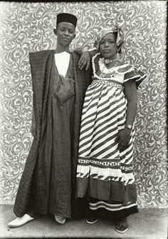 Credit: Tribal Portraits Vintage & Contemporary Photographs from the African Continent Contemporary African Couple by Seydou Keita, 1956. Keita (1921–2001) was a self-taught portrait photographer from Bamako, Mali