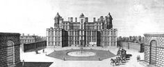 Worksop Manor, it only ever had a small part finished but even so it was the largest house in Europe