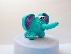 3D Quilling: Elephant