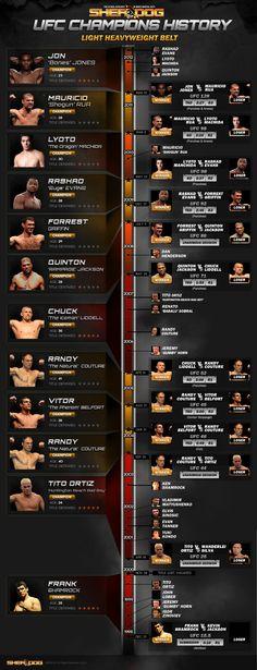 UFC LHW history
