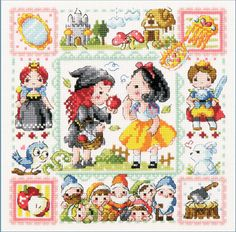 Find More Information about 100% Pure Cotton Thread Needlework DIY Cross Stitch Sets For Embroidery Kits No Printed Snow White Counted Cross Stitch Sets,High Quality cartoon pictures of books,China cartoon coaster Suppliers, Cheap stitch cross from Linda's DIY on Aliexpress.com