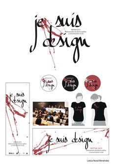 MOTIVA 2015 -  Leticia Noval -  Oviedo, Spain (Propuesta para el concurso de la imagen de las 18º jornadas de diseño gráfico y comunicación visual, MOTIVA 2015, en Oviedo (Spain) )