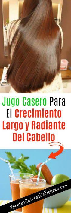 Jugo Casero Para el Crecimiento del Cabello