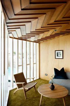 3 Unique Cool Ideas: False Ceiling Bedroom Feature Walls false ceiling design for passage.False Ceiling Bedroom Other. False Ceiling Design, Wooden Ceiling Design, Timber Ceiling, Wooden Ceilings, Modern Ceiling, Plank Ceiling, Low Ceilings, White Ceiling, Textured Ceiling
