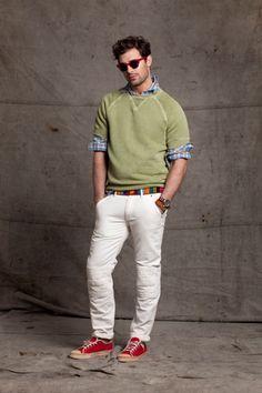 casual cool.   Gant by Michael Bastian - Men's Spring Fashion