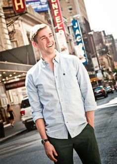 The Book of Mormon Star Nic Rouleau Reveals the Curse of the Standby and Goes Gaga Over Kelli O'Hara Theatre Geek, Broadway Theatre, Musical Theatre, Theater, Book Of Mormon Musical, Kelli O'hara, American Teen, The Great White, Raining Men