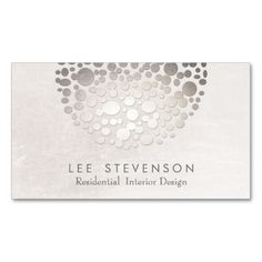 Modern Interior Designer  Monochromatic Neutral Business Card Template. This great business card design is available for customization. All text style, colors, sizes can be modified to fit your needs. Just click the image to learn more!