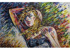 "Maurizio Carpanelli :: Web Art Gallery  ""Kate"" #ritratti #arte #oliosutela"