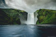 Iceland lives up to the hype. Skogafoss, Iceland