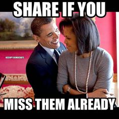 You may agree with the politics..but they are one classy couple...p