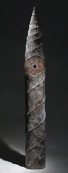 "Christophe Nancey ~ ""Elevation"" ~ Oak - Wood Sculpture ♥"