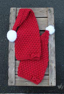 I denne oppskriften er det beskrevet både lang og kort nisselue. Holiday Hats, Christmas Love, Knitted Hats, Baby, Knitting, Advent, Pattern, Accessories, Noel
