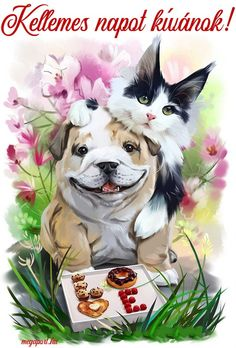 Sweet summer day by Kajenna on DeviantArt Good Morning Happy Weekend, Aztec Tattoo Designs, Share Pictures, Animated Gifs, Painting Accessories, Angel Wallpaper, Square Art, Cross Paintings, Dog Art