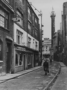 High Friar Street, Newcastle upon Tyne Local History, British History, Uk Photos, Cool Photos, Blaydon Races, Newcastle Gateshead, Somewhere In Time, North East England, Sunderland