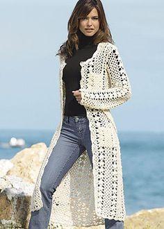 crochet coat - wow!