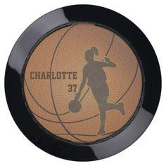 Basketball Girl USB Charging Station