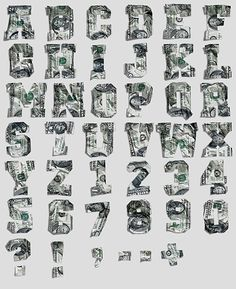 Typography in Art or Art in Typography