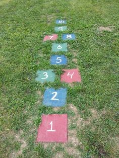 Backyard games..with the pavers I have?.