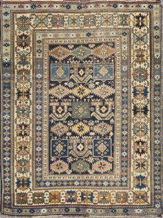 Type : Shirvan Origin : Caucasus Circa : 1900 Size : 104 X 134