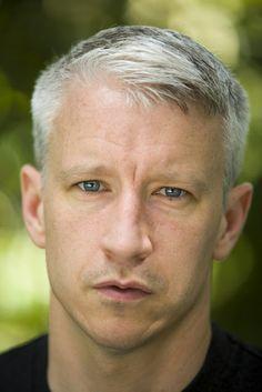Silver Fox Anderson Cooper.