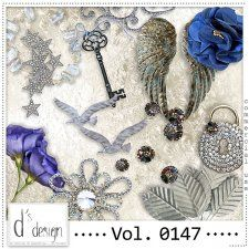 Vol. 0147 - Vintage Mix  by Doudou's Design  #CUdigitals cudigitals.com cu commercial digital scrap #digiscrap scrapbook graphics