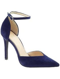I love that these are a bright navy.  Jessica Simpson Cirrus | Piperlime