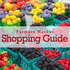 Farmer's Market Shopping Guide.