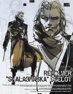 Metal Gear Solid V : The Phantom Pain Ocelot Metal Gear 3, Raiden Metal Gear, Metal Gear Solid Series, Revolver Ocelot, Videogames, Character Art, Character Design, Kojima Productions, Gear Art