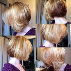 Short Cut And Balayage Strawberry Blonde Highlights By