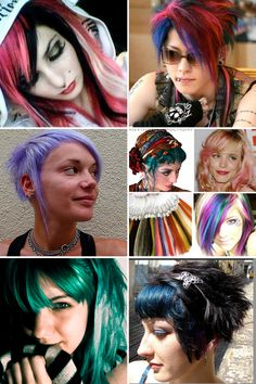 Obviously, what we do with our hair affects our overall appearance. It shouldn't matter to others how we want to express ourselves. However, there definitely is social stigma still attached to unique hair coloring.