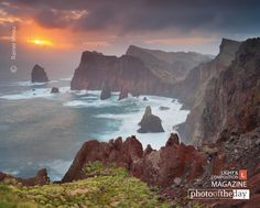 Wild Coast, by Rainer Mirau. Madeira, Portugal