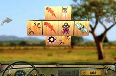 Afrikai forgatós – Mahjong Africa (3D madzsong) Itt játszható - Play: http://eroszakmentes.com/afrikai-forgatos-mahjong-africa/