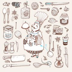 The Little Things of Life by Anna Rusakova, via Behance