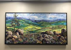 Another example of a collage commissioned for a medical facility. Houston, Collage, Medical, Landscape, Abstract, Nature, Artist, Painting, Summary
