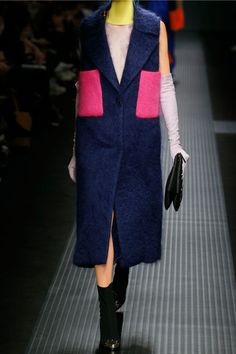 MSGM | Belted two-tone mohair-blend gilet | NET-A-PORTER.COM