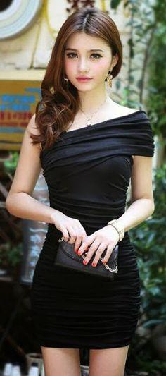 Sexy One Shoulder Sleeveless Lycra