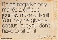 Quotes of Joyce Meyer being negative Words Quotes, Me Quotes, Motivational Quotes, Funny Quotes, Inspirational Quotes, Sayings, Journey Quotes, Crush Quotes, Joyce Meyer