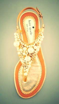 bubbly sandals  Kate Spade #sparklingeverafter!