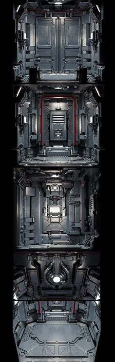 Original concept from Doom 3 i am done some redesign Technique modeling taken from amazing Tor Frick his gumroads you can find here https://gumroad.com/snefer Main inspiration was art from few super high skill artists such as Paul Pepera, Tor Frick, Bea…