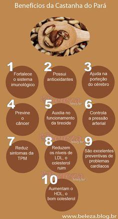 Benefícios da Castanha do Pará