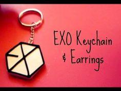 EXO Keychain & Earrings - YouTube