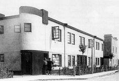 w greve - council dwellings (korrelbeton system), oogststraat, betondorp, amsterdam, 1923-25