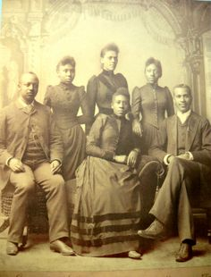 The Fisk or Jubilee singers; early gospel singers and an important part of C&W's roots.