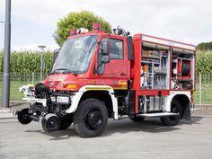 Mercedes-Benz Unimog U 400 TLF FFV Road-Railer