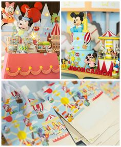 Baby Mickey & Friends Birthday Party via Kara's Party Ideas | KarasPartyIdeas.com (1)