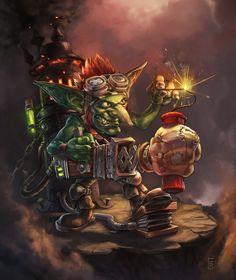 Goblin Dynamite Punch by Scorbutman on DeviantArt