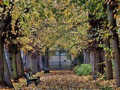 Vintage HANNOVER Berggarten frarue