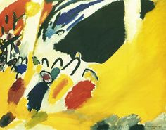 Impressione III (Concerto) - 1911 - Kandinsky Vassili - Opere d'Arte su Tela - Listino prodotti - Digitalpix - Canvas - Art - Artist - Painting