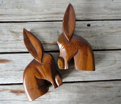 donkey bookends