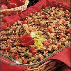 Mushroom Wild Rice Recipe.